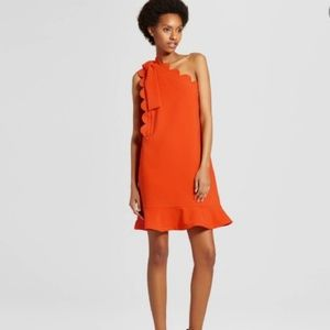 Orange One-shoulder....NWT